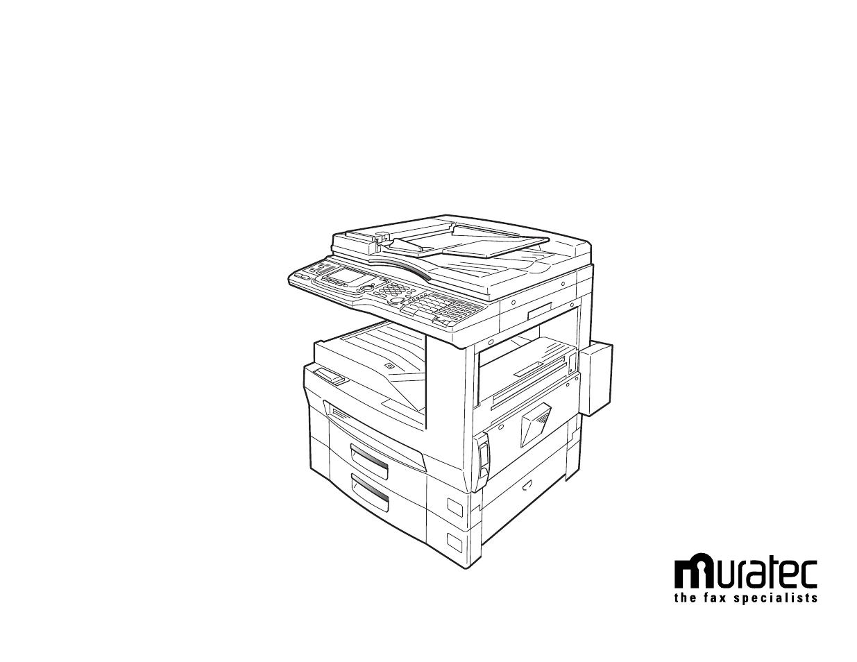 MURATEC MFX-2500 DRIVER