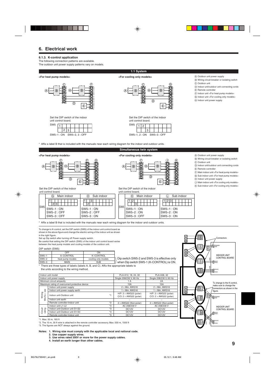 wiring diagram for mitsubishi ac units