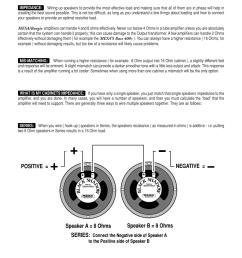 speaker impedance matching hook up guide speaker a 8 ohms speaker b 8 ohms series positive negative mesa boogie rectifier stereo user manual  [ 954 x 1235 Pixel ]