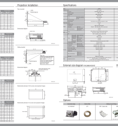 specifications options rear terminals mitsubishi electric hc3000 hc910 user manual page [ 1350 x 954 Pixel ]