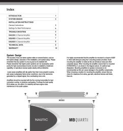 nautic index mb quart nautic amplifier nau460 user manual page 2 10 [ 954 x 1235 Pixel ]