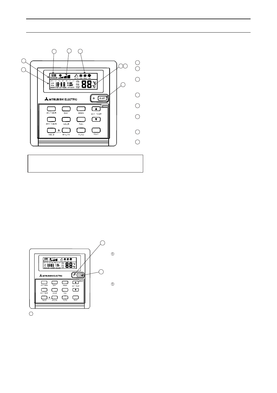 hight resolution of how to operate option pac 204rc warning 1 on off mitsubishi electric pe 15myc user manual page 109 115