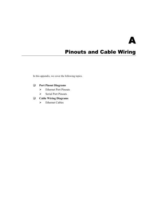 small resolution of a pinouts and cable wiring appendix a pinouts and cable wiring moxa technologies nport 5110 series user manual page 86 101
