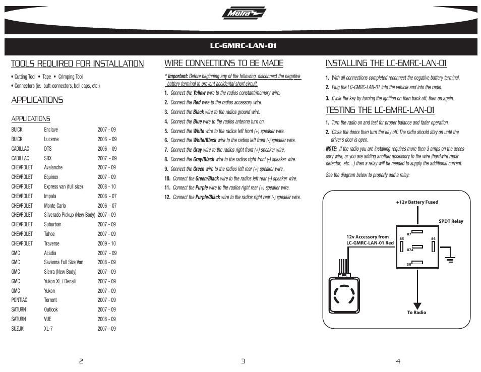 Dorable Gmos 06 Wiring Diagram Cadillac Deville Crest - Electrical ...