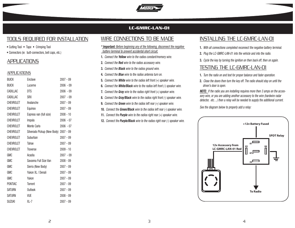 Gmos-01 Wiring Diagram & ... Wonderful Axxess Wiring Harness Diagram ...