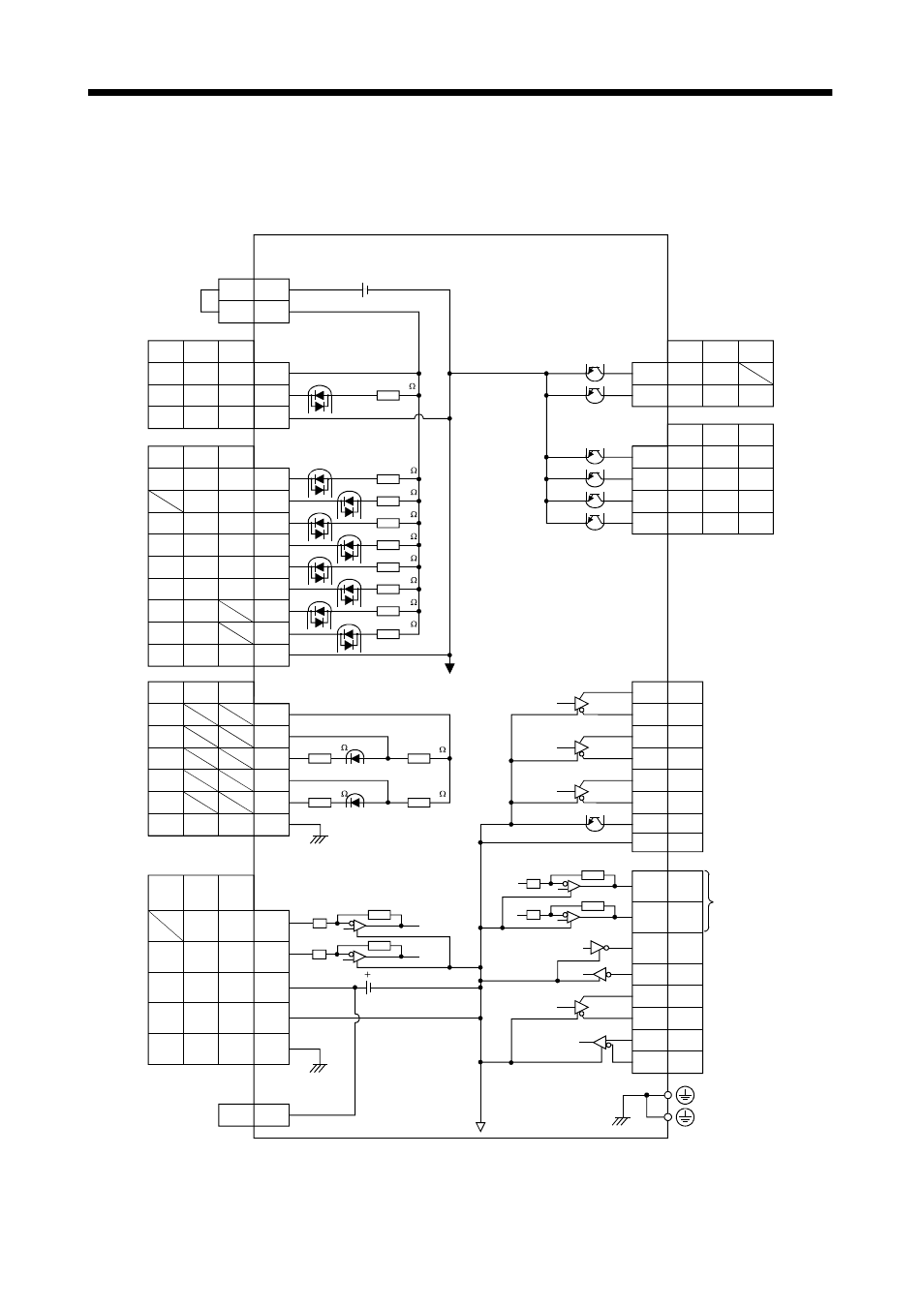 medium resolution of 2 internal connection diagram of servo amplifier signals and wiring2 internal connection diagram of servo