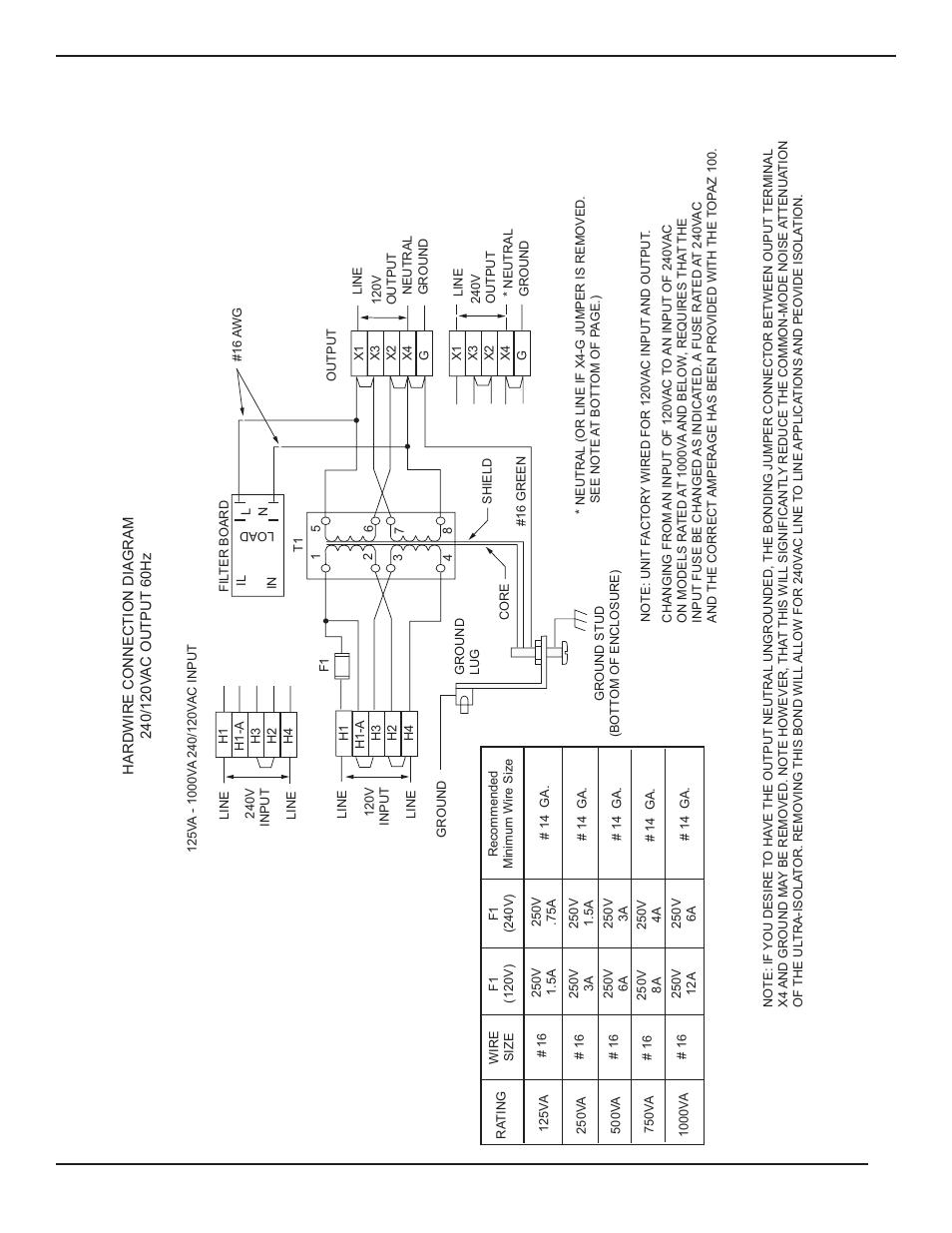 3: circuit diagram for 125va-10, Topaz 100 ultra-isolator