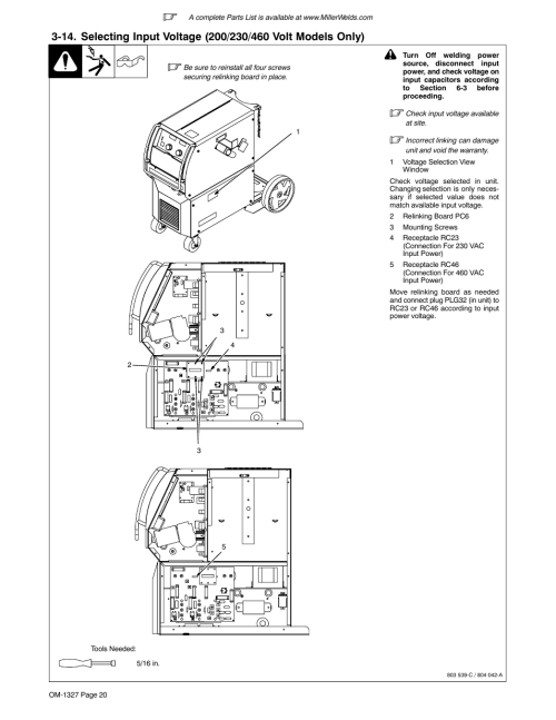 small resolution of millermatic 350p wiring diagram