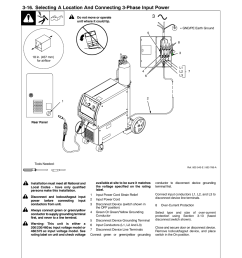15 serial number and rating label location miller electric millermatic 350p user manual  [ 954 x 1235 Pixel ]
