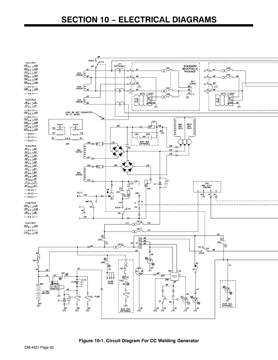 medium resolution of section 10 electrical diagrams miller electric big blue 500 x user manual page 56 92