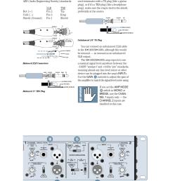 speaker outputs unbalanced 1 4 ts plug balanced xlr connectors balanced  [ 954 x 1235 Pixel ]