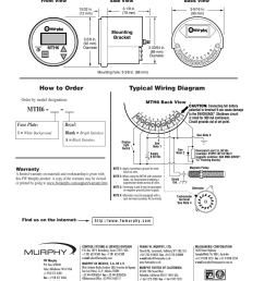 mth6 typical wiring diagram how to order dimensions murphy mth6 murphy switch wiring diagrams [ 954 x 1235 Pixel ]
