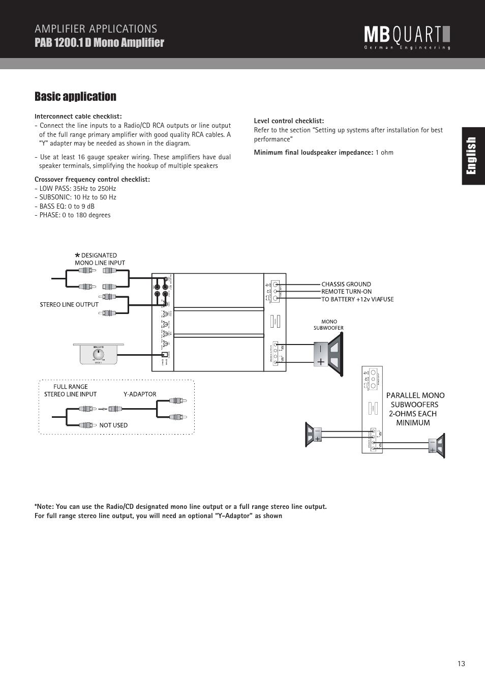 hight resolution of mb quart wiring diagram wiring diagram third level alpine car audio wiring diagram mb quart wire