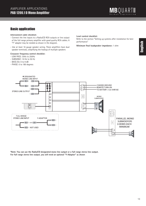 small resolution of mb quart wiring diagram wiring diagram third level alpine car audio wiring diagram mb quart wire