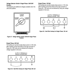 dca 25ssi output voltage setup multiquip mq power whisperwatt generator dca 25ssi user manual page 35 140 [ 954 x 1235 Pixel ]