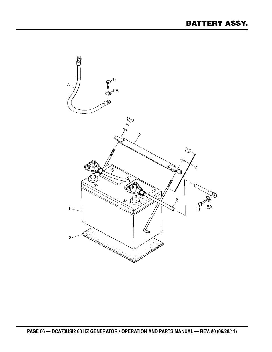 Multiquip Power Whisperwatt Series 60HZ Generator