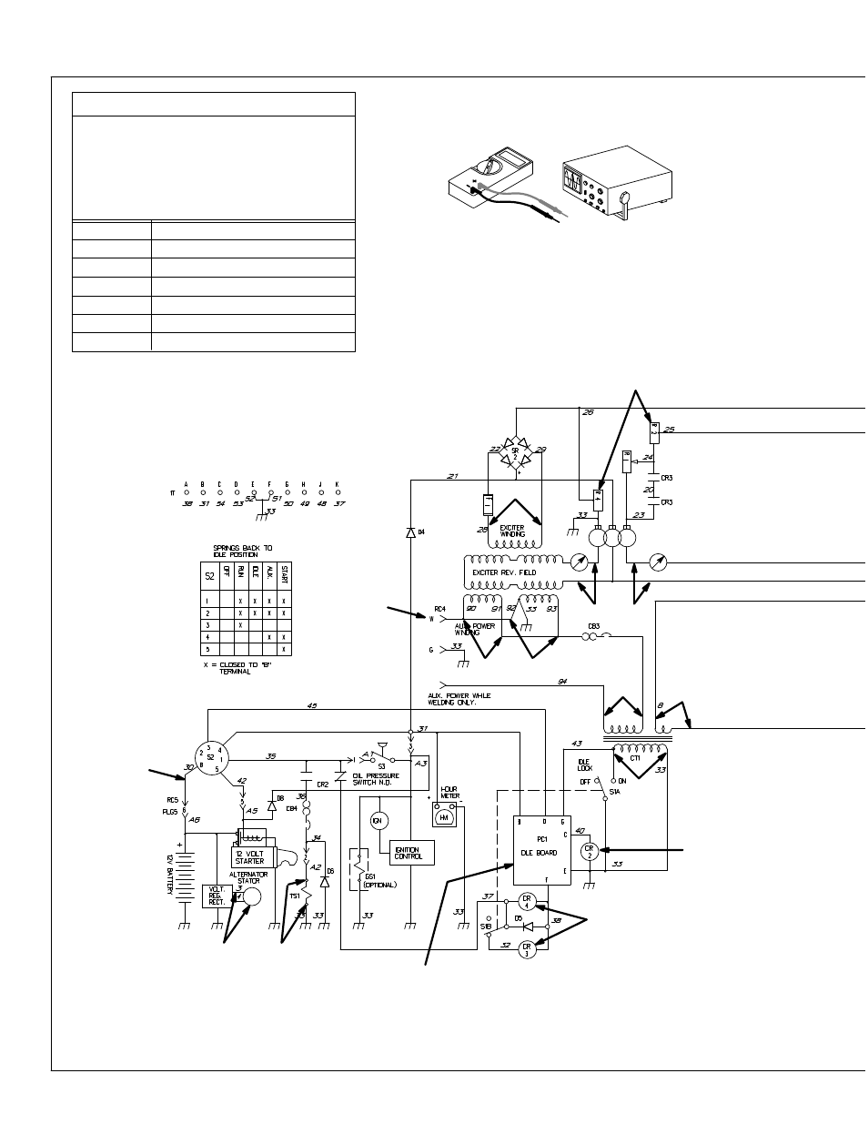 hight resolution of miller electric legend aead 200 le user manual page 22 68 troubleshooting circuit diagram for welding generator miller