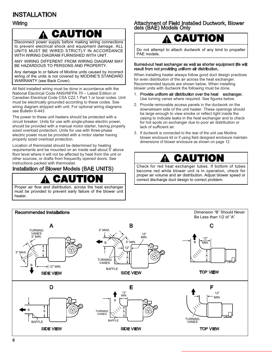 Modine Pdp Wiring Diagram 25 Images Heaters For Pd Manufacturing Bae Page6resize6652c861 50