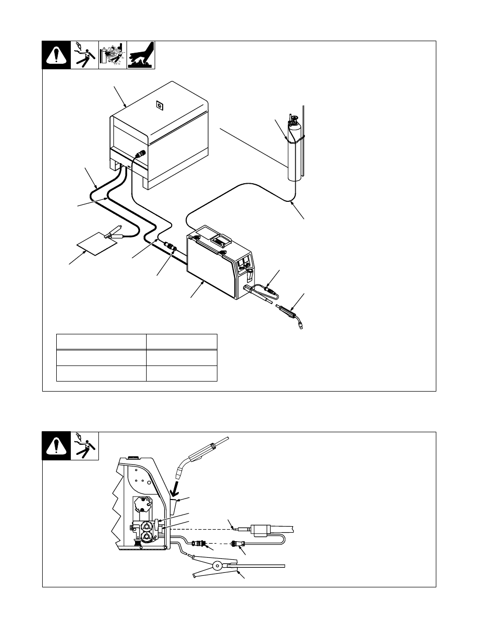 hight resolution of 2 equipment connection diagram miller electric s 22p12 user manual page 15 28