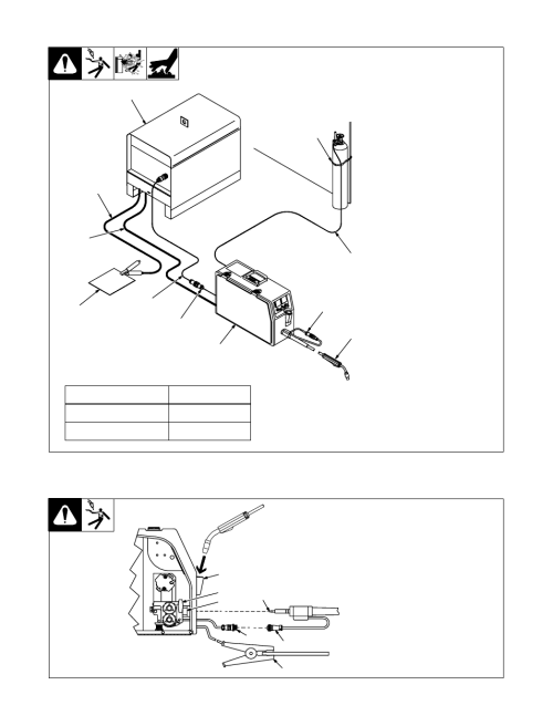 small resolution of 2 equipment connection diagram miller electric s 22p12 user manual page 15 28