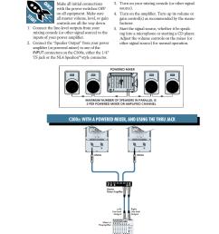hookup diagrams quick start hookup diagrams mackie c300z user manual page 4 12 [ 954 x 1350 Pixel ]
