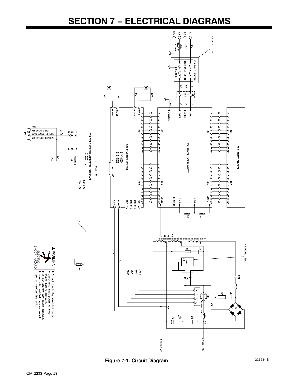 hight resolution of section 7 electrical diagrams miller electric maxstar 200 str user manual page 34 56