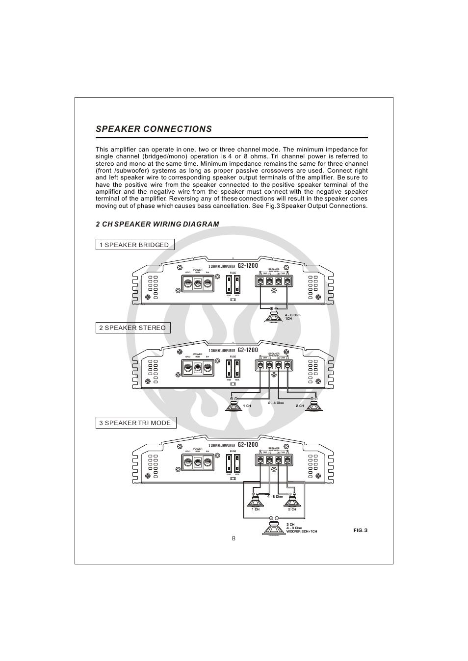 hight resolution of  10 speaker connections 2 ch speaker wiring diagram interfire audio g2