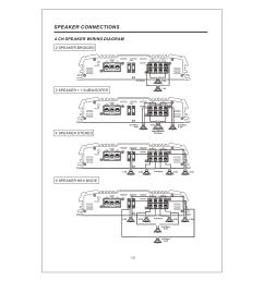 12 speaker connections 4 ch speaker wiring diagram interfire audio tunn t 2130 user manual page 12 20 [ 954 x 1348 Pixel ]