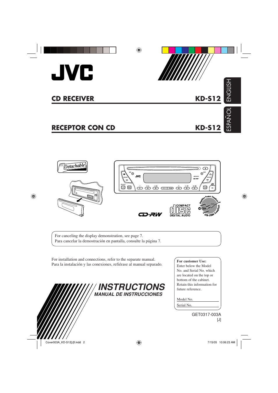 medium resolution of jvc kd s12 user manual 34 pages rh manualsdir com jvc car radio jvc kd sr40 wiring diagram