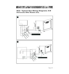 0 typical spa wiring diagrams a b 60hz models 0 typical spa mix 0 [ 954 x 1235 Pixel ]