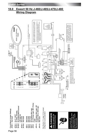 Page 56, Danger | Jacuzzi J  400 SERIES J  460 User Manual | Page 61  77