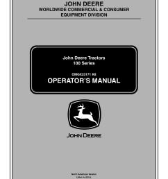 john deere la105 page1 deere la115 owners manual 100 images deere la115 lawn tractor light switch [ 954 x 1235 Pixel ]
