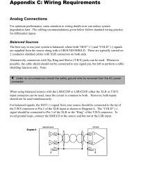 appendix c wiring requirements jbl lsr4326p user manual page 38 51 [ 954 x 1235 Pixel ]