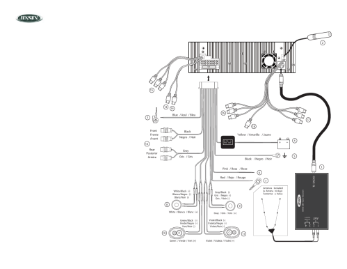 small resolution of jensen vm9510 wiring harness diagram wiring diagrams show jensen radio model vm9510 wiring diagram