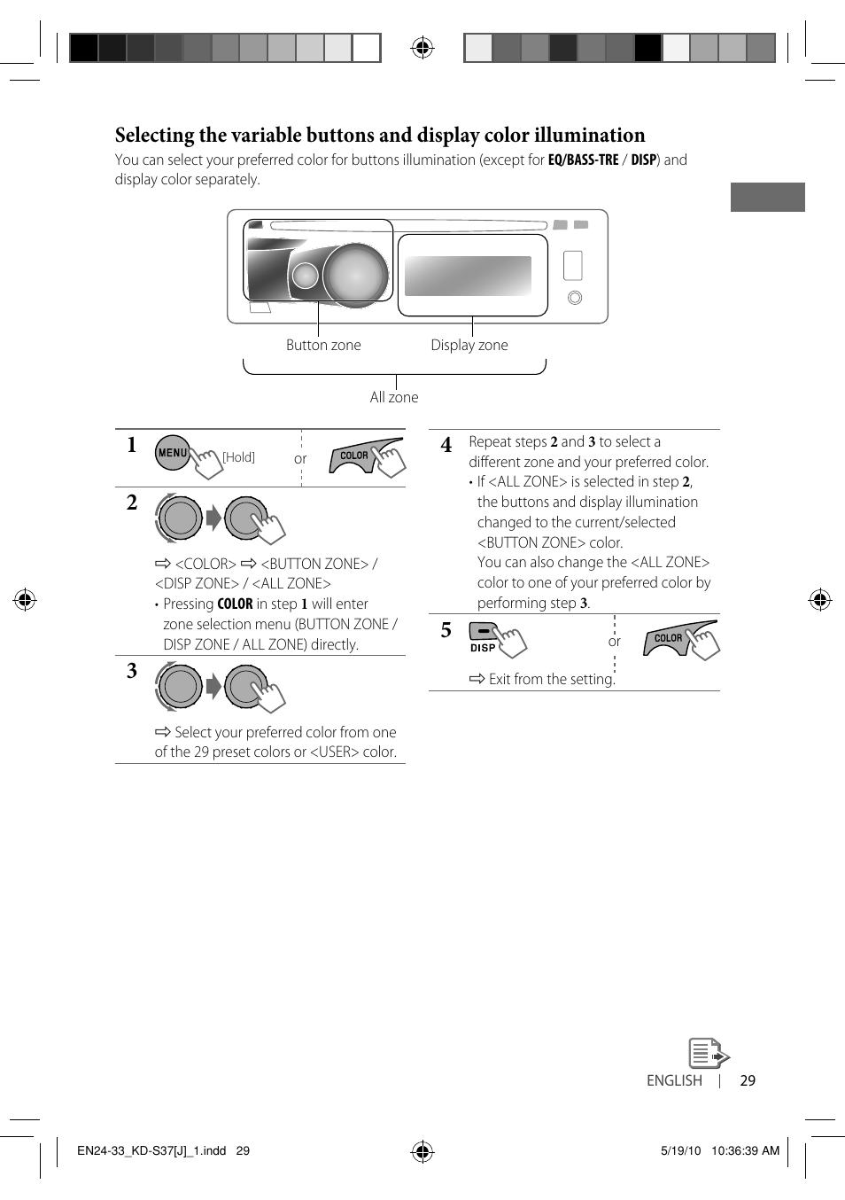 Jvc Kd S37 User Manual