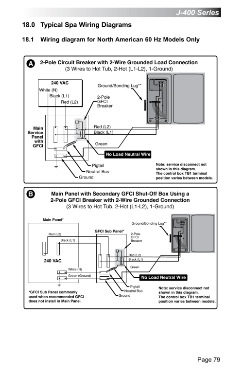 small resolution of wrg 8908 2wire gfci wiring diagram0 typical spa wiring diagrams j 400 series