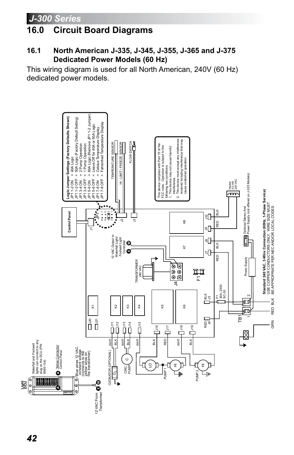 hight resolution of 0 circuit board diagrams dedicated power models 60 hz jacuzzi j