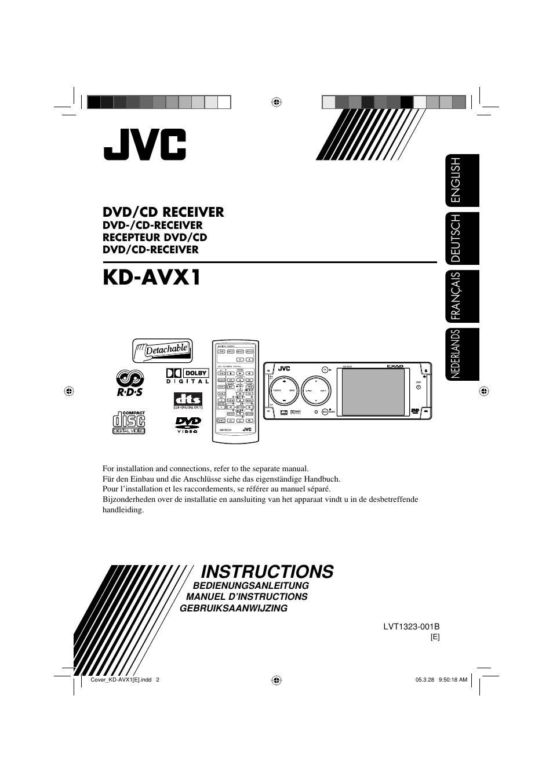 hight resolution of jvc kd avx1 user manual 78 pages rh manualsdir com jvc car cd player manual jvc
