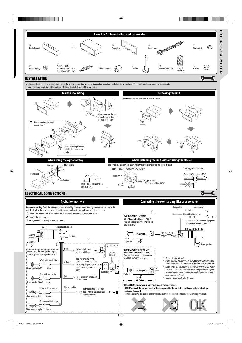 Wiring Harness Diagram For Jvc Car Stereo / Diagram Jvc