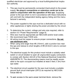 0 electrical wiring instructions jacuzzi j 280 user manual page 14 52 [ 954 x 1474 Pixel ]