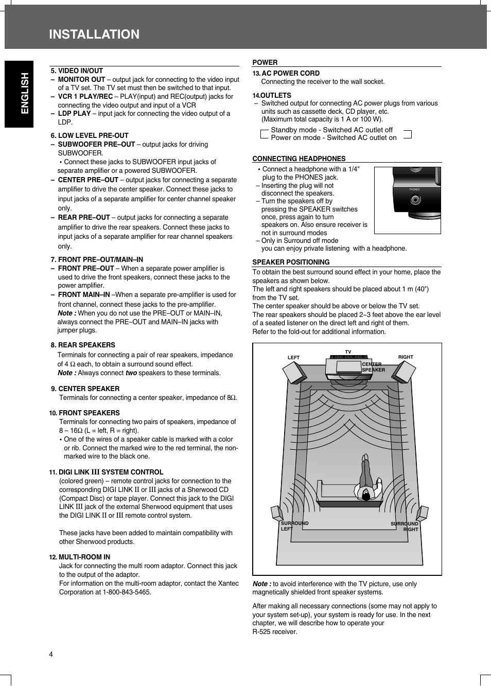 hight resolution of 1 4 speaker jack wiring