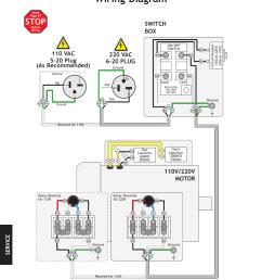 wiring diagram stop j i m woodstock shop fox w1824 user manual page 72 88 [ 954 x 1235 Pixel ]