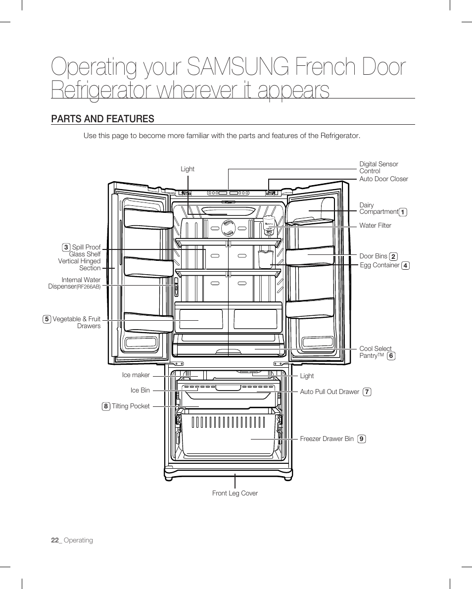 hight resolution of samsung rf265 ice maker diagram samsung rf265 user manual design