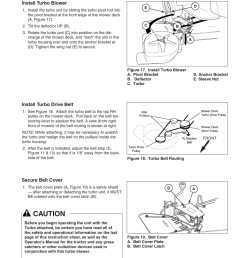 initial turbo installation caution simplicity 1694498 user manual simplicity mower belt diagram initial turbo installation [ 954 x 1235 Pixel ]