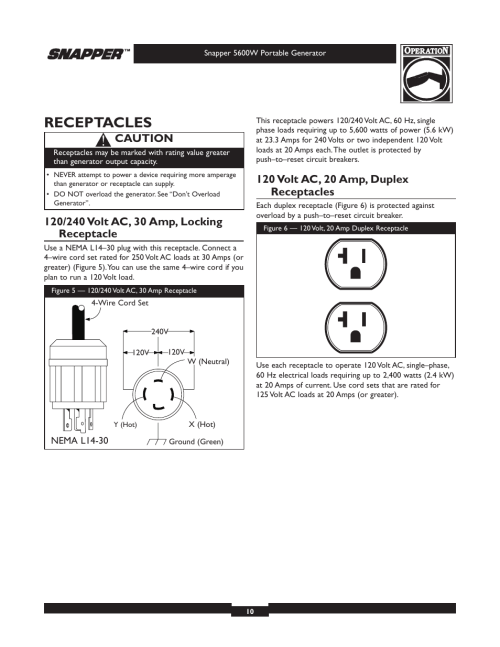 small resolution of generator receptacle plug wiring diagram
