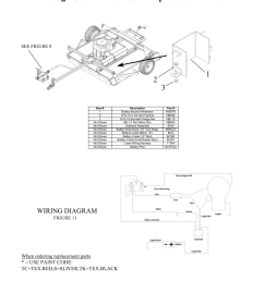 rough cut 44 12 volt start replacement parts wiring diagram seerough cut 44 12 [ 954 x 1235 Pixel ]
