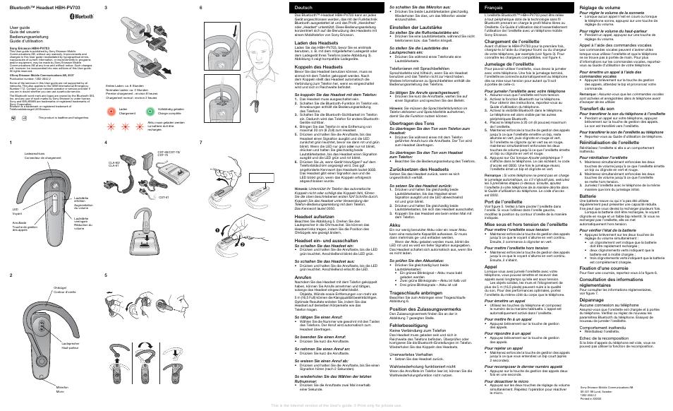 HBH-PV703 MANUAL PDF