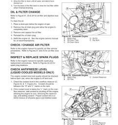 regular maintenance oil filter change check change air filter simplicity 1693130 user manual page 25 42 [ 954 x 1235 Pixel ]
