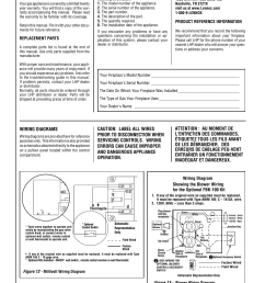 wiring diagrams superior direct vent gas fireplaces sdv35 user manual page 16 28 [ 954 x 1235 Pixel ]