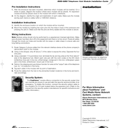 installation pre installation instructions installation instructions wiring instructions security system  [ 954 x 1210 Pixel ]